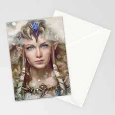 Epic Princess Zelda from Legend of Zelda Painting Stationery Cards