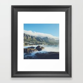 Hello Cape Town Framed Art Print