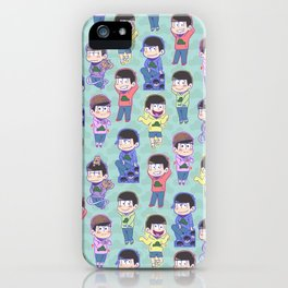 The Sextuplets iPhone Case
