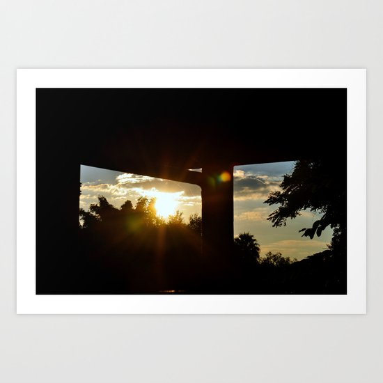 Lighting I Art Print