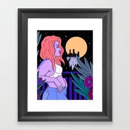 BALCONY DREAMING Framed Art Print