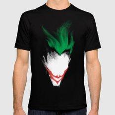 The Dark Joker Black Mens Fitted Tee X-LARGE