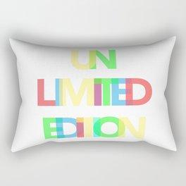 Unlimited Edition Rectangular Pillow
