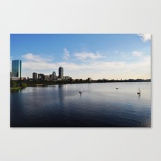 I Love that Dirty Water! Canvas Print