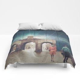 We met as Time Travellers Comforters