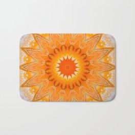 Sunny Mandala Design Badematte
