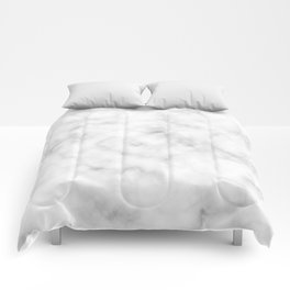 Marble White Texture Comforters