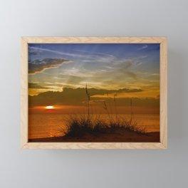 Gorgeous Sunset Framed Mini Art Print