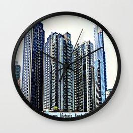 Melbourne CBD Wall Clock