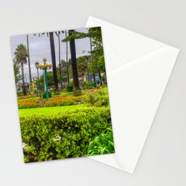 Green Clive Square Garden Napier Stationery Cards