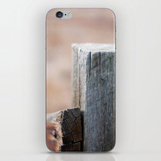 Fence Post III iPhone & iPod Skin
