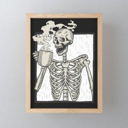Coffee Framed Mini Art Print
