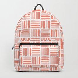 Boho Bohemian Garden Party Coral Backpack