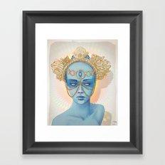 Oculi Divina Framed Art Print