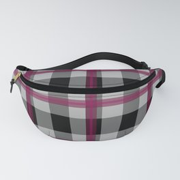 Seamless checkered pattern. Fanny Pack