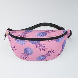 Violet pineapples Fanny Pack