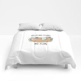 Weekend Plans Comforters