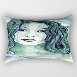 Maybe I'm A Mermaid (Tori Amos inspired art) Rectangular Pillow