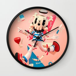 Dead Sailor Tom - Popartoons Remix Wall Clock