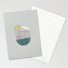 Emerson: Live in the Sunshine Stationery Cards
