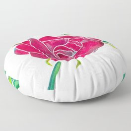 Wild Rose Floor Pillow