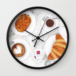 La Colazione dei Campioni Wall Clock