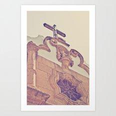 Iglesia Art Print