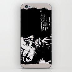 BUKOWSKI - solitude QUOTE iPhone & iPod Skin