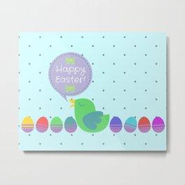 Happy Easter! Metal Print