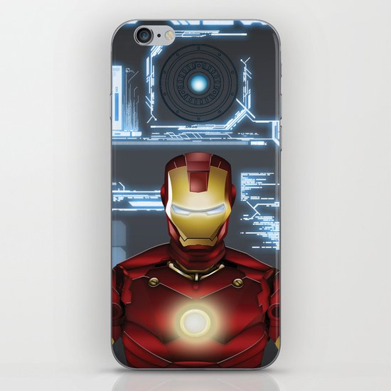Iron-Man iPhone & iPod Skin