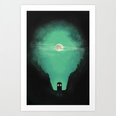 Spacey-Timey Art Print