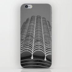 Marina City Tower Photo, Chicago, Architecture iPhone & iPod Skin