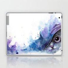 Watercolor cat #2 Laptop & iPad Skin