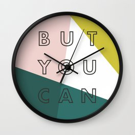 You Might Not Think So Wall Clock