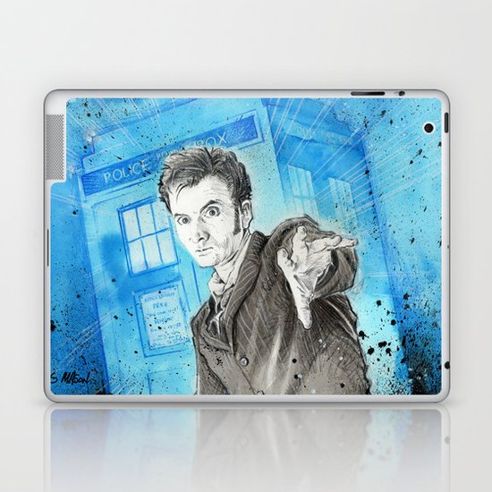 Doctor Who: The 10th Doctor Laptop & iPad Skin