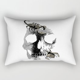 Skull three Rectangular Pillow