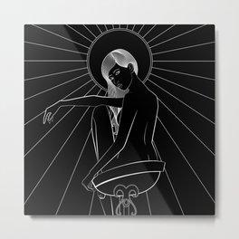 Amaterasu Noir Metal Print