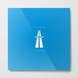 Kraftwerk Autobahn Metal Print