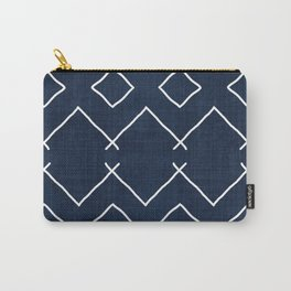 Bath in Navy Carry-All Pouch