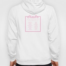 Don't settle for being a pretty face Hoody