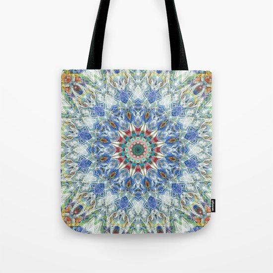 Kaleidoscope No. 3 - Blue Tote Bag