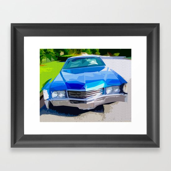 1970 Cadillac Eldorado Framed Art Print
