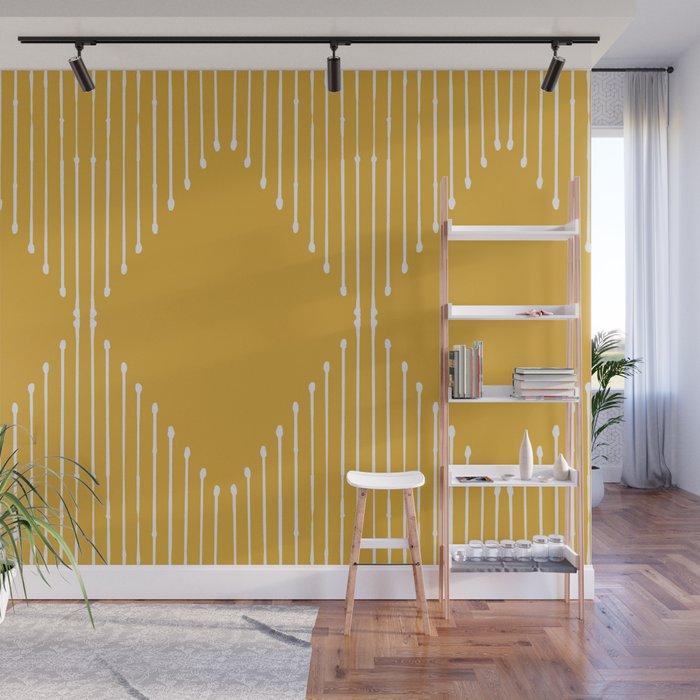 Geo / Yellow Wall Mural