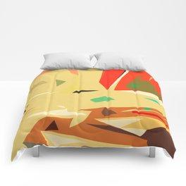 Desert of love Comforters
