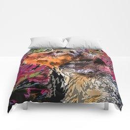 """Cucciolo di Graffito"" ~ Dachshund, Weiner Dog, Doxie, everywhere! Comforters"