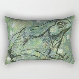 The Magical Frog Rectangular Pillow