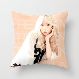 Baby G - Intensely Baring Your Soul Throw Pillow
