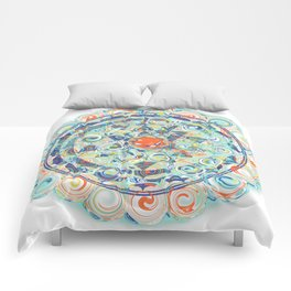 Samaya Sri Yantra Comforters