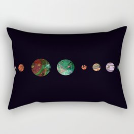 Another solar system Rectangular Pillow