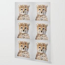 Baby Cheetah - Colorful Wallpaper